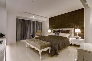 大户型现代奢华风卧室装修效果图