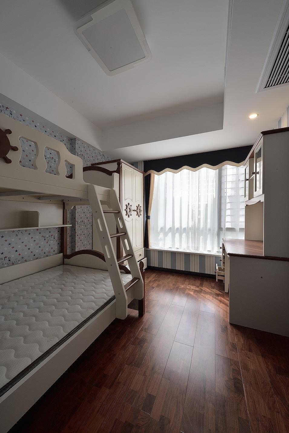 136平现代风格儿童房装修效果图