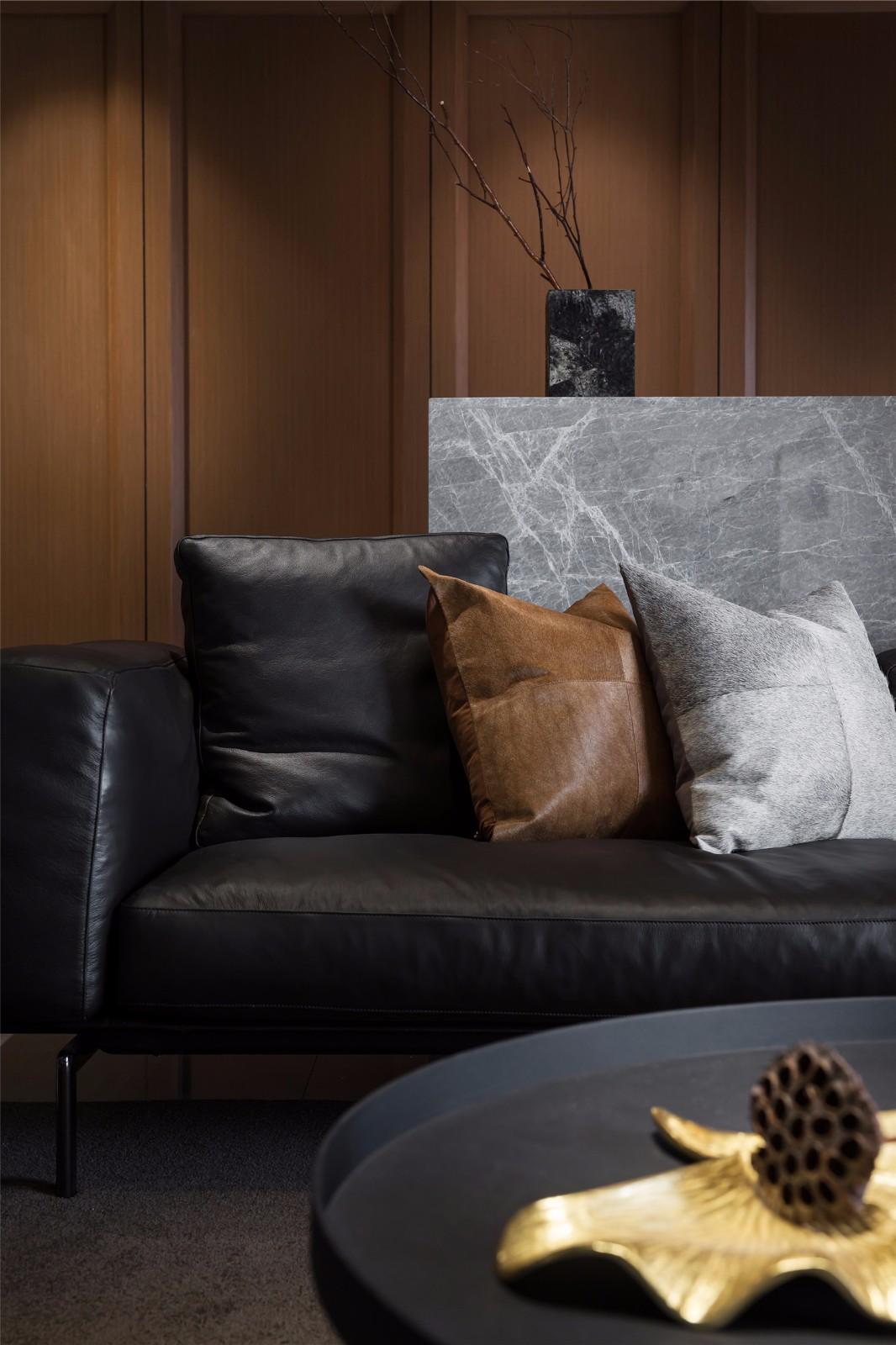 160㎡现代风格装修沙发设计图