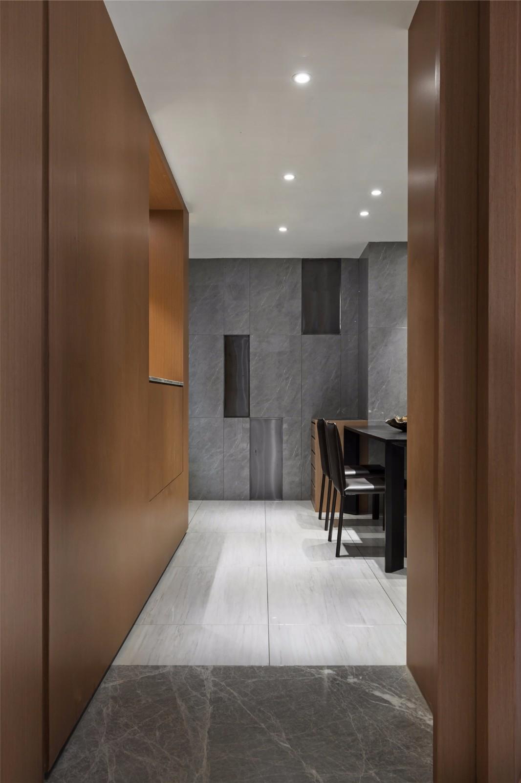 160㎡现代风格走廊装修效果图
