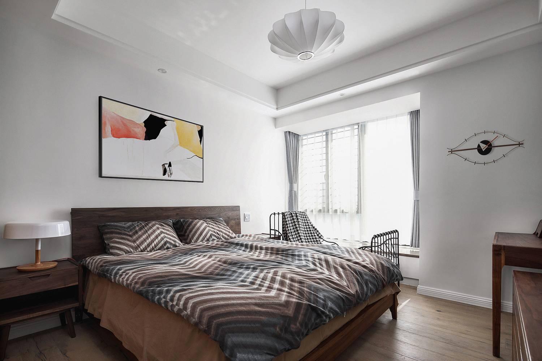 朴素简约风卧室装修效果图