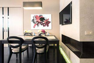 现代风格公寓餐厅装修设计图