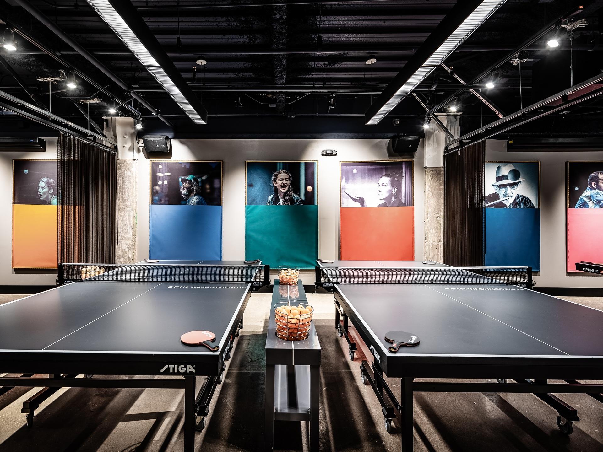 休闲风乒乓球馆每日首存送20