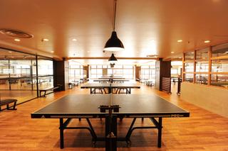 乒乓球馆装修设计图