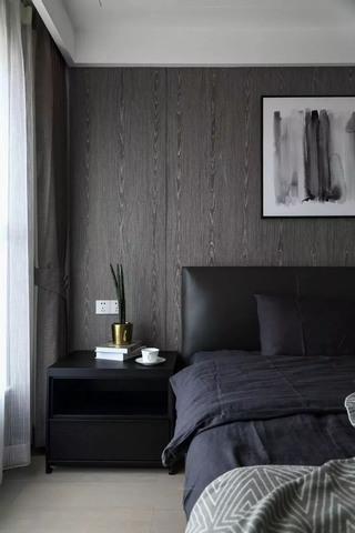 185㎡现代简约卧室背景墙装修效果图