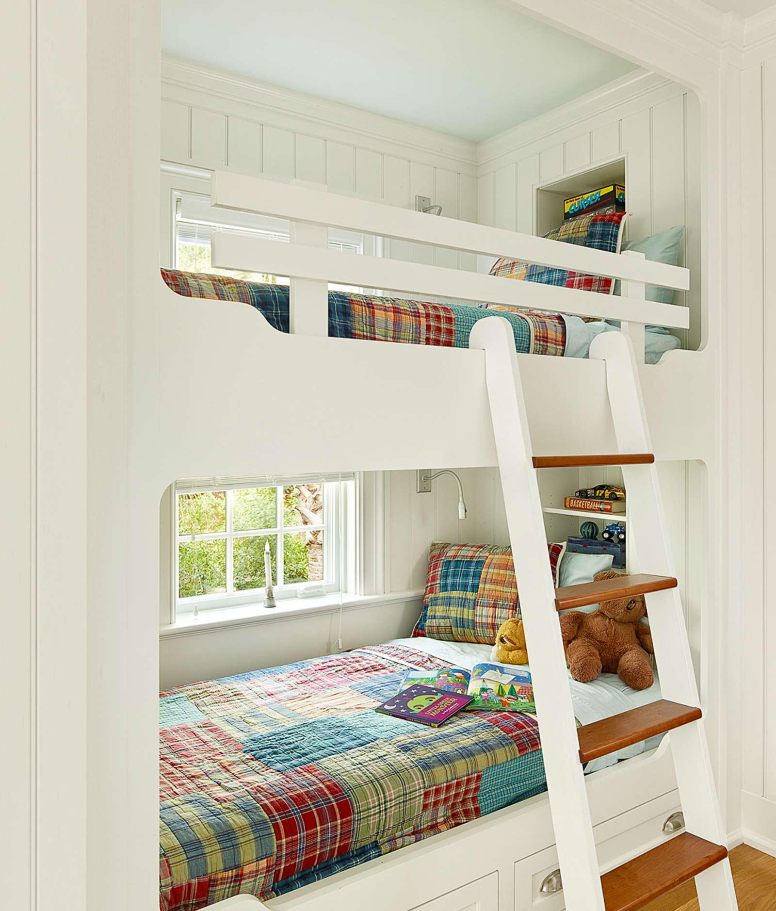 美式田园风格别墅儿童房装修效果图