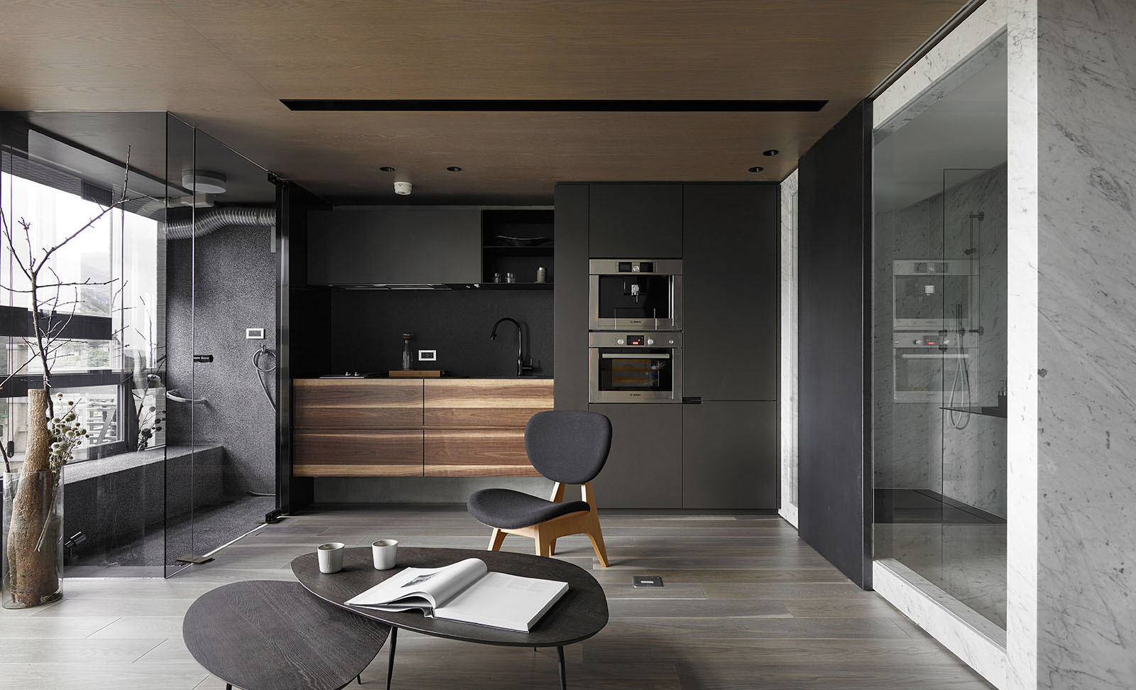 LOFT风格公寓厨房装修效果图