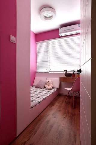 115平北欧混搭儿童房装修效果图
