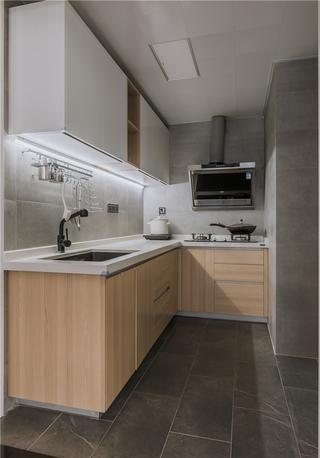 90㎡现代简约厨房装修效果图