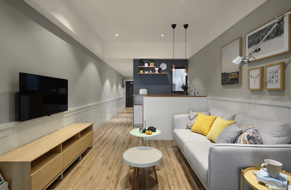 40㎡小户型公寓装修效果图