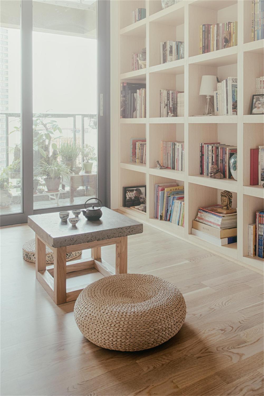 日式简约风书房装修效果图