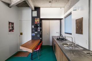 40平米水泥公寓厨房装修效果图