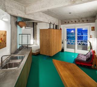40平米水泥公寓卧室装修效果图