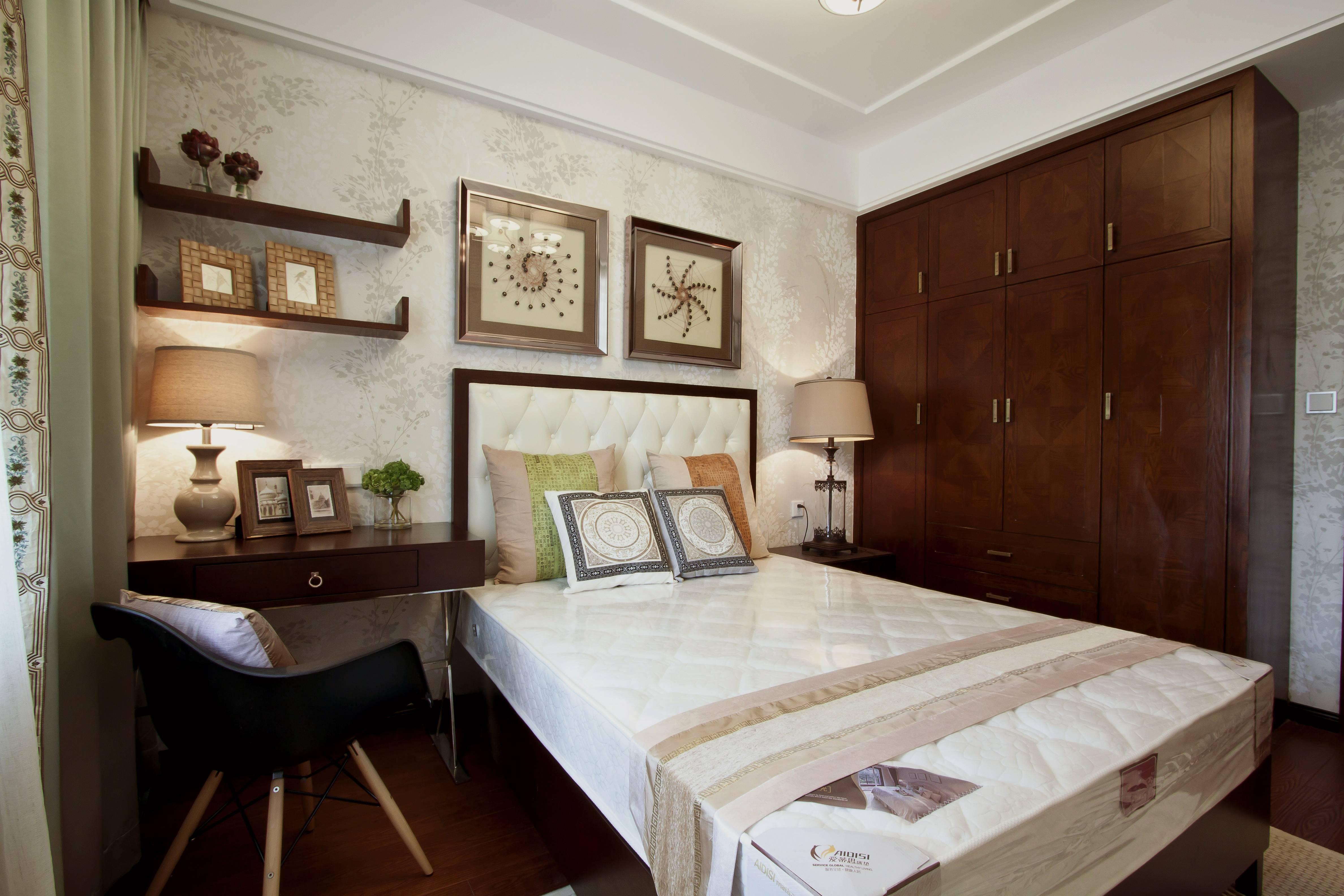 145㎡新中式风格卧室装修设计图