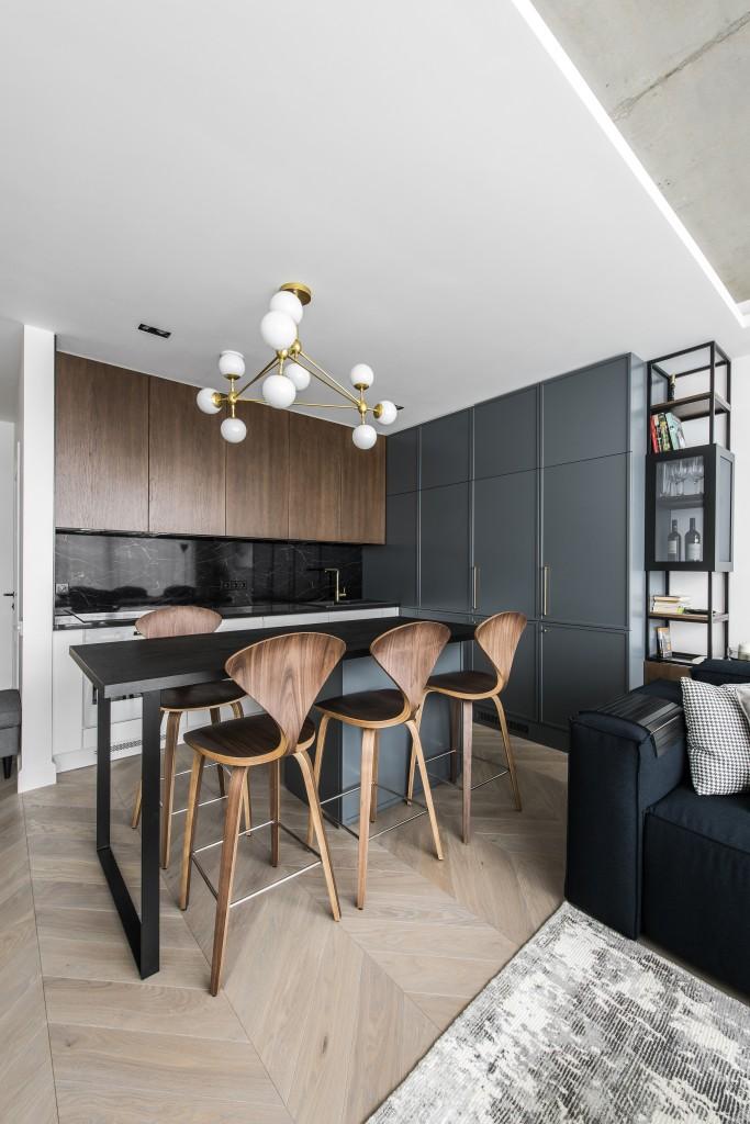 80㎡复式公寓厨房装修效果图