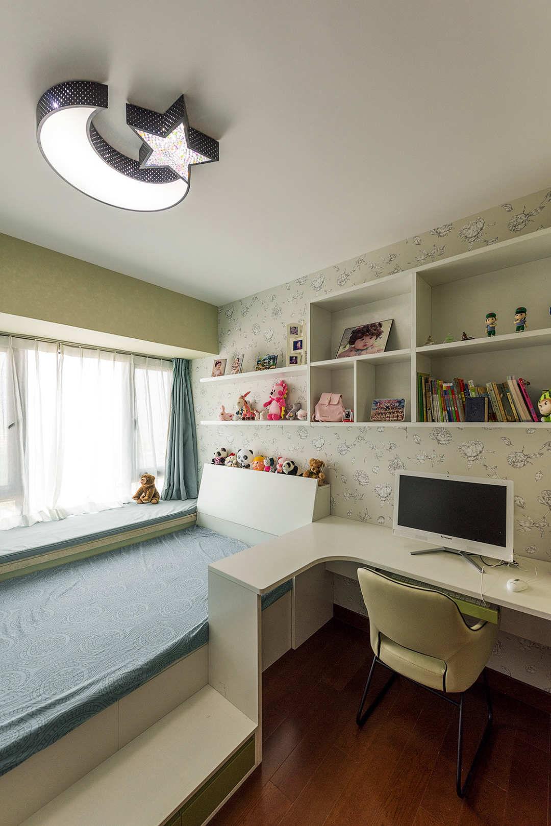 简约现代风格儿童房装修效果图