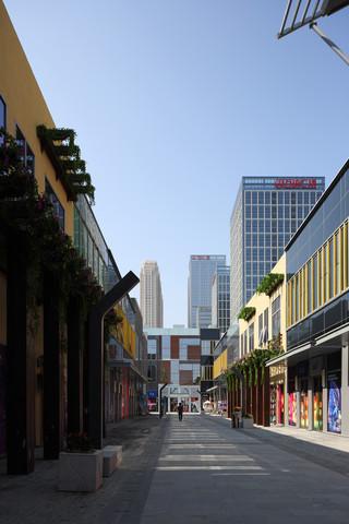 现代商业街设计图