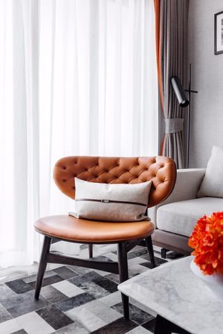 低奢现代样板间装修沙发椅设计图