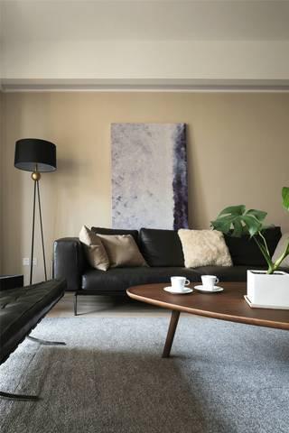 大户型简约风沙发背景墙装修效果图