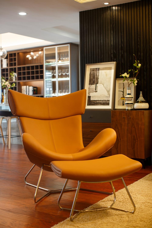 大户型现代北欧风装修躺椅设计图