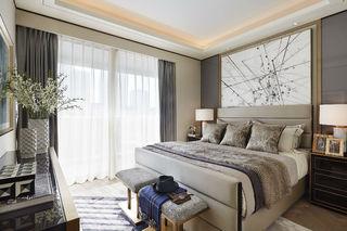 150平现代轻奢风卧室装修效果图