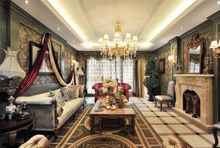 古典美式风格别墅装修效果图