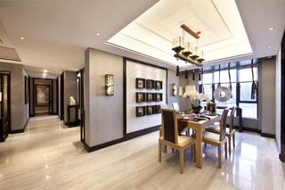 142㎡中式风格餐厅装修效果图