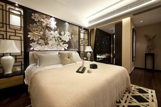 142㎡中式风格卧室装修效果图