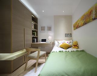二居室现代简约儿童房装修效果图