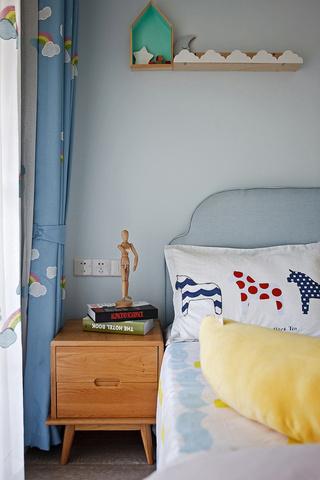 90㎡北欧风格装修床头柜设计图