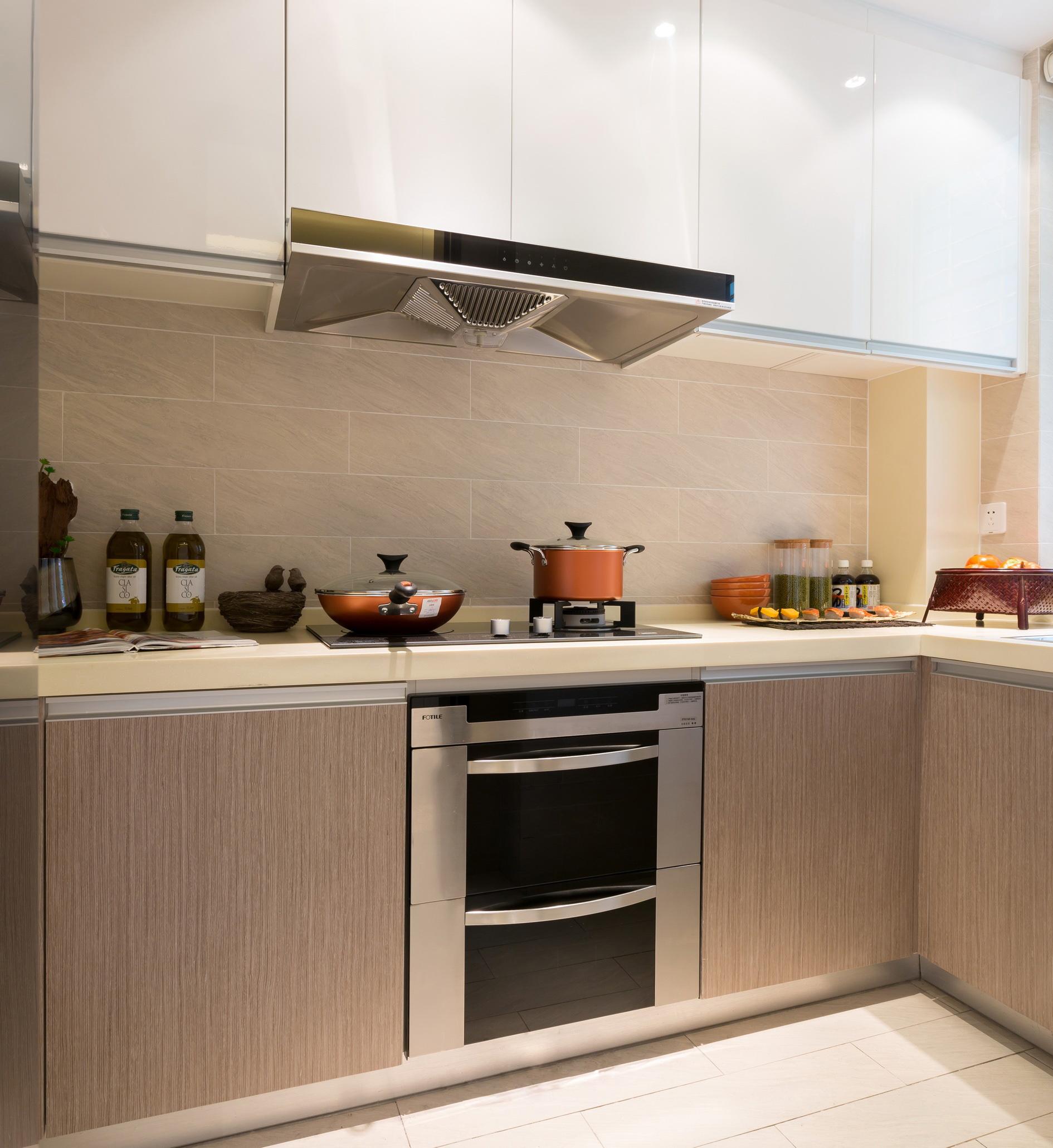 时尚现代简约风厨房装修效果图