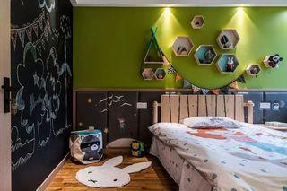 112㎡简约北欧风儿童房装修效果图