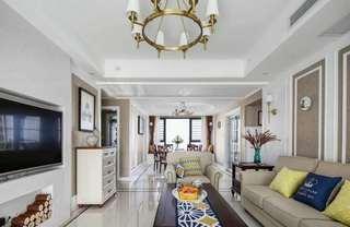美式风格四居客厅每日首存送20