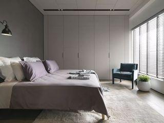 200平现代简约别墅卧室装修效果图