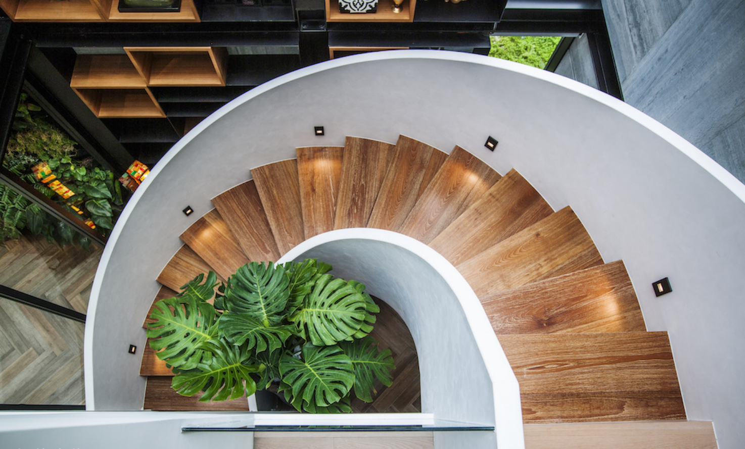 现代风格别墅楼梯装修效果图