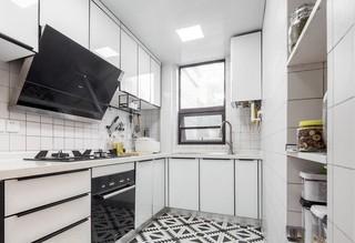 140平米简约风格厨房装修效果图