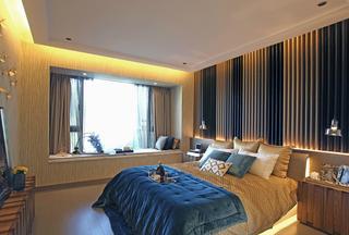 现代风格三居卧室每日首存送20