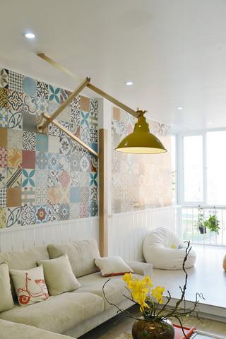 简约风格公寓装修壁灯设计图
