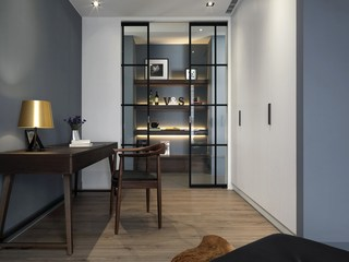 三居室北欧风书房装修效果图
