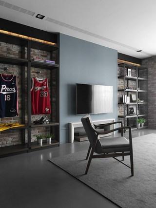 三居室北欧风电视背景墙装修效果图
