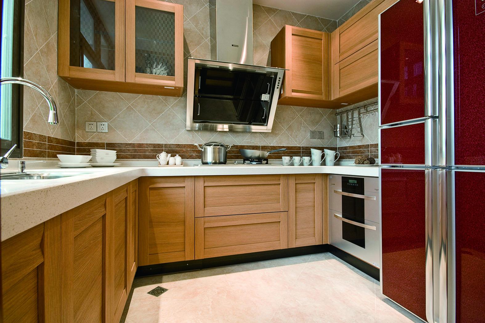 混搭风格二居室厨房装修效果图