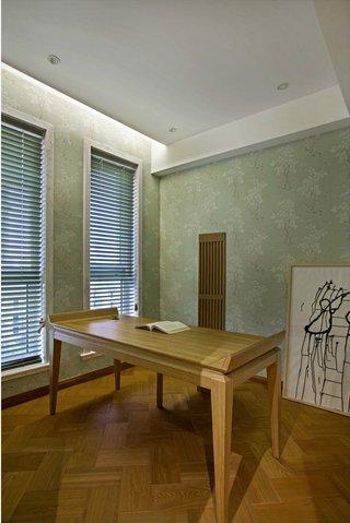 大户型现代日式风书房装修效果图