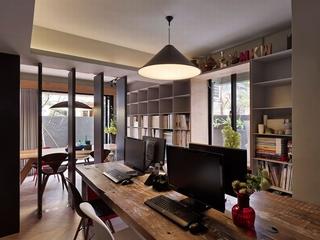 混搭风格公寓工作区装修效果图