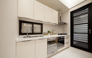 现代简约风格三居厨房装修效果图