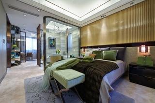 现代奢华大户型卧室装修效果图