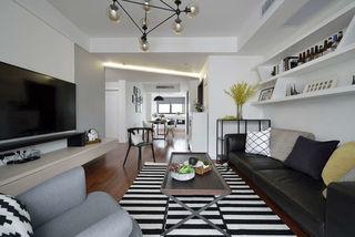 北欧风格两居室客厅装修效果图