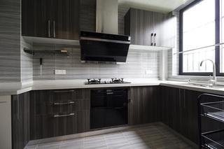 143㎡简约现代风格厨房装修效果图