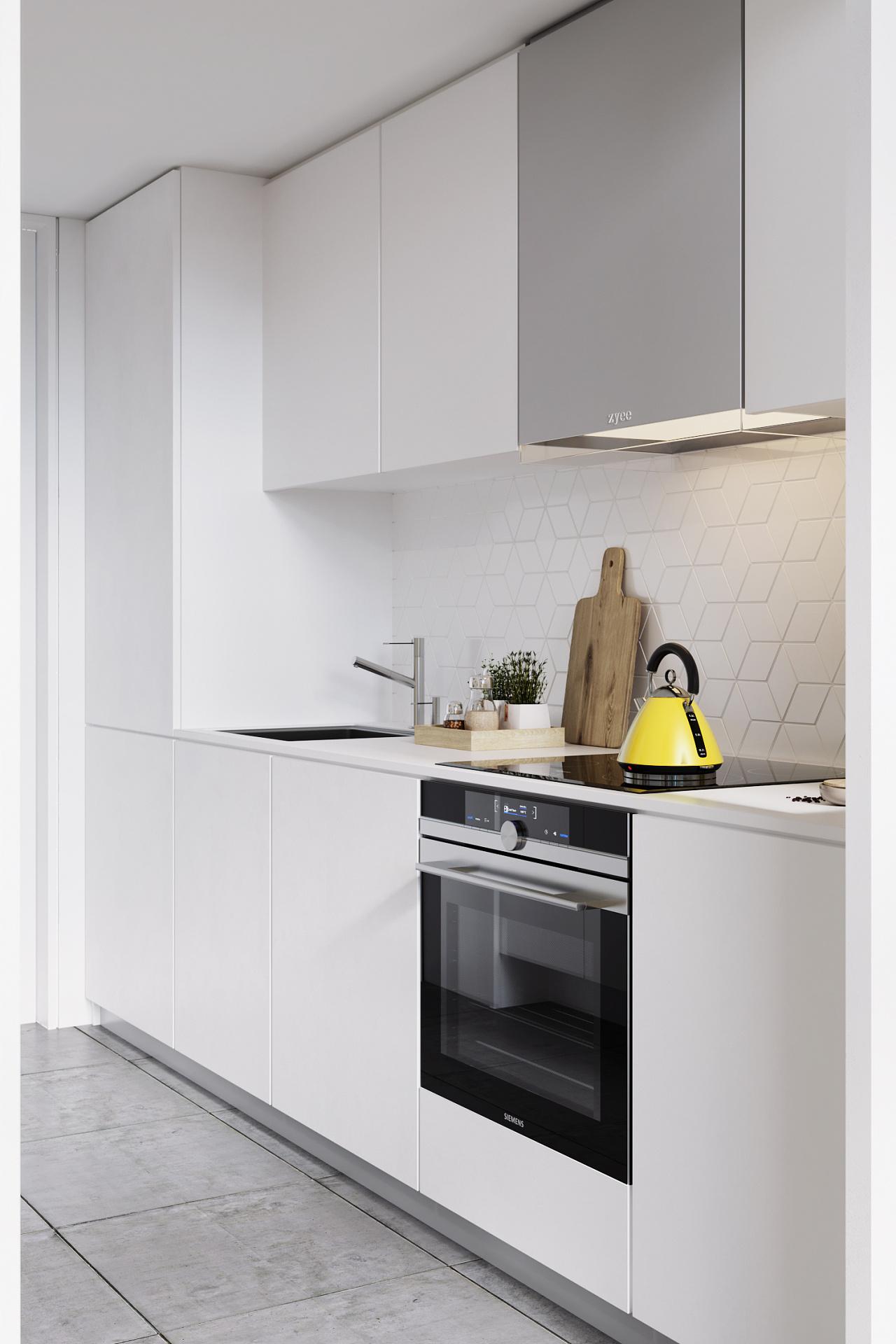 一居室小户型厨房装修效果图