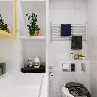 一居室小户型卫生间装修效果图