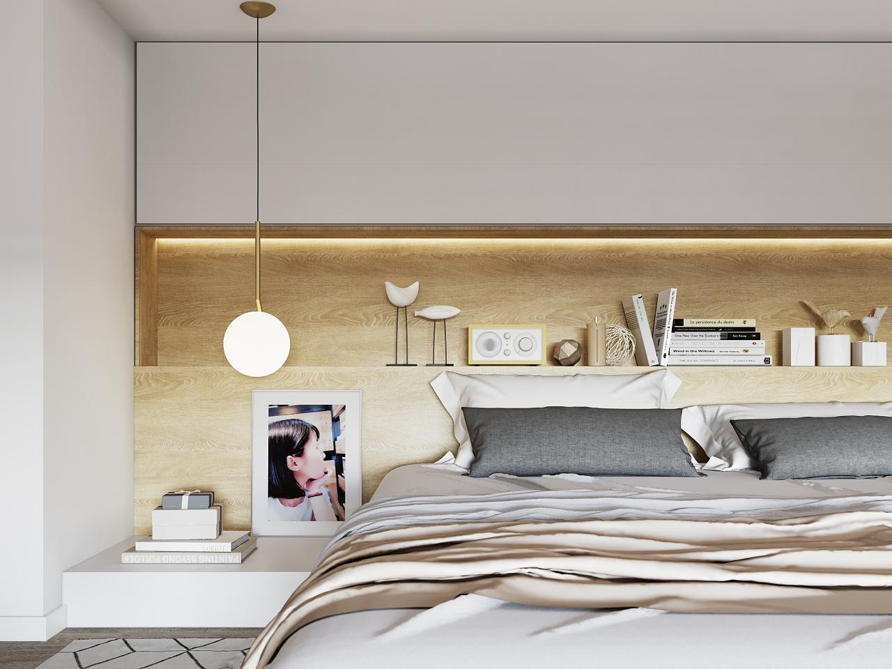一居室小户型卧室装修效果图